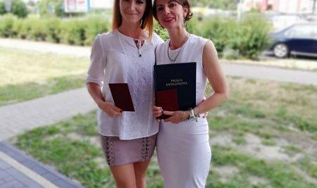 Wręczenie dyplomów końcowych